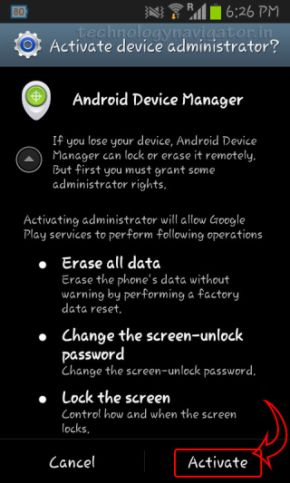 How to track, wipe & lock your android device using ...