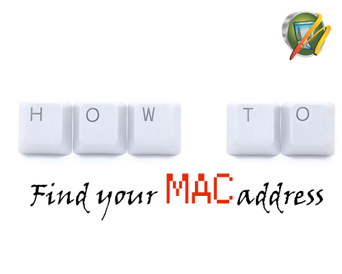 how to find windows 10 mac axddress
