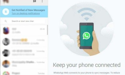 whatsapp web client connection